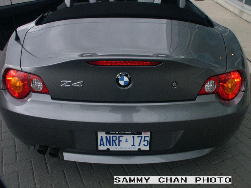 Canadian Auto Review 2003 Bmw Z4 Photos