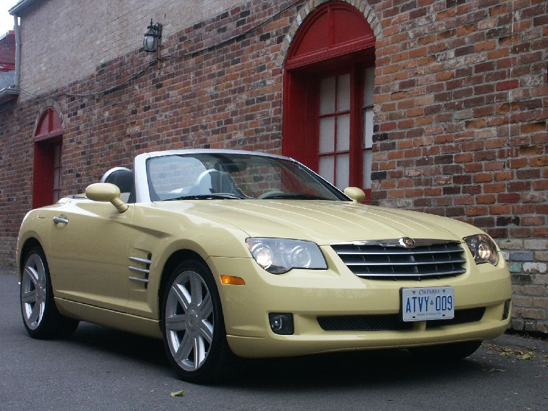 canadian auto review 2005 chrysler crossfire roadster photos. Black Bedroom Furniture Sets. Home Design Ideas