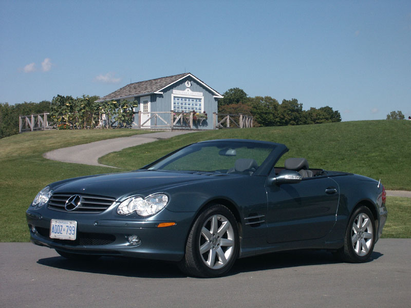 Canadian auto review 2006 mercedes benz sl500 photos for 2006 mercedes benz sl500