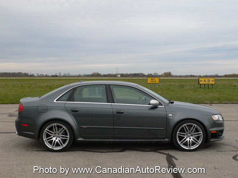 Canadian Auto Review 2007 Audi Rs4