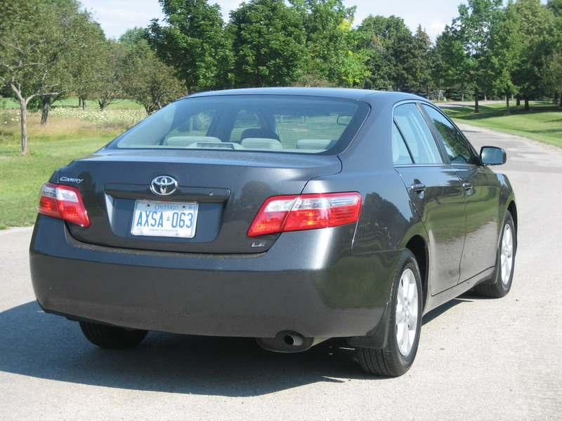 Camry Rearside on 2007 Toyota Camry Le