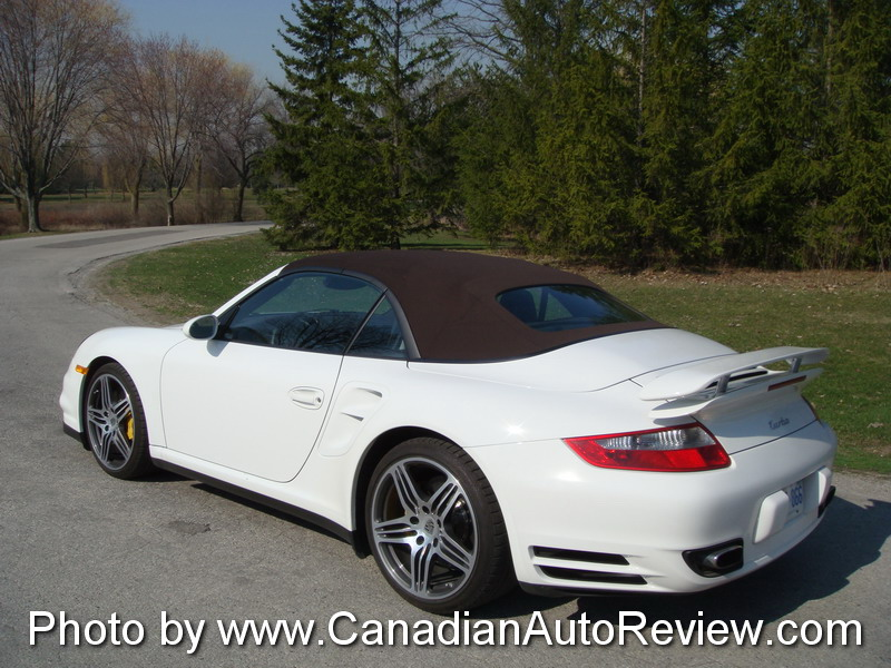 Canadian Auto Review 2008 Porsche 911 Turbo Cabriolet