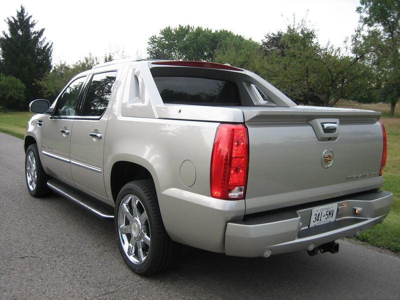 2009 cadillac escalade ext photo gallery cars photos. Black Bedroom Furniture Sets. Home Design Ideas
