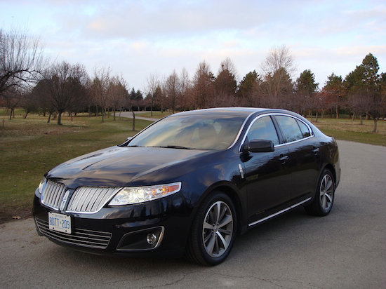 2009 Lincoln MKS Black front