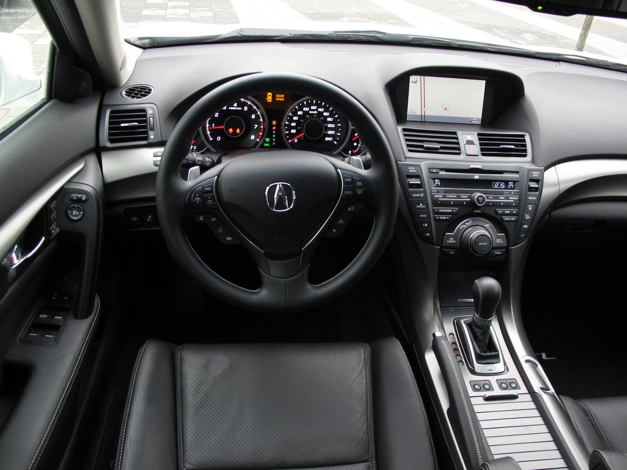 2012 acura tl sh awd elite white interior