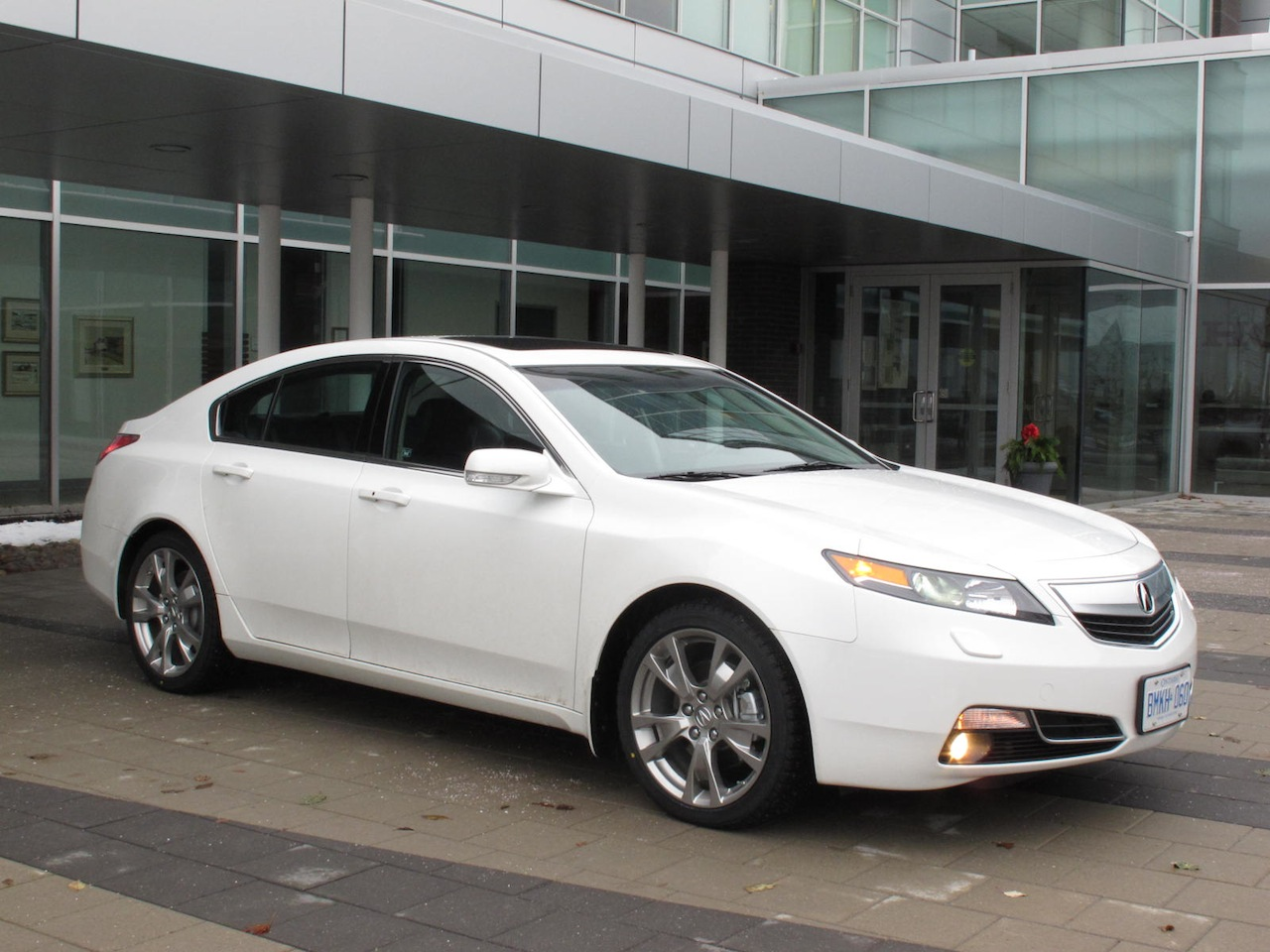 2012 Acura Tl Sh Awd Elite White