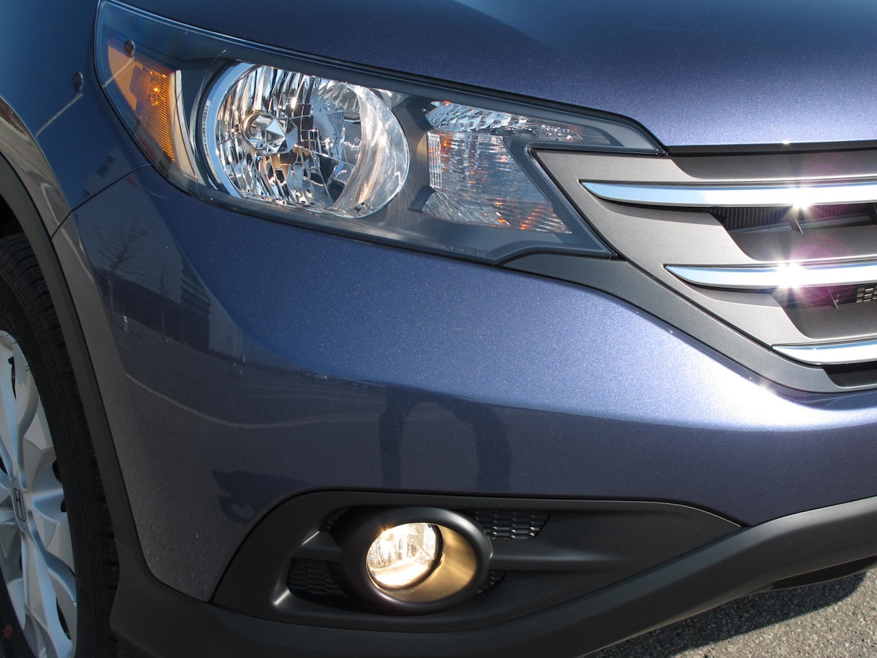 2012 honda cr v touring headlights