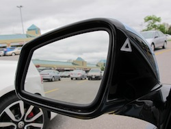 2013 BMW Activehybrid 3 Blue side mirrors