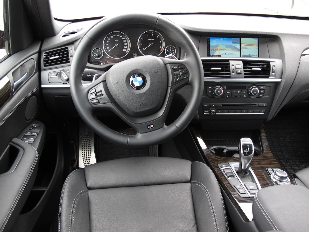 2013 BMW X3 XDrive35i Red Interior Dashboard Msport