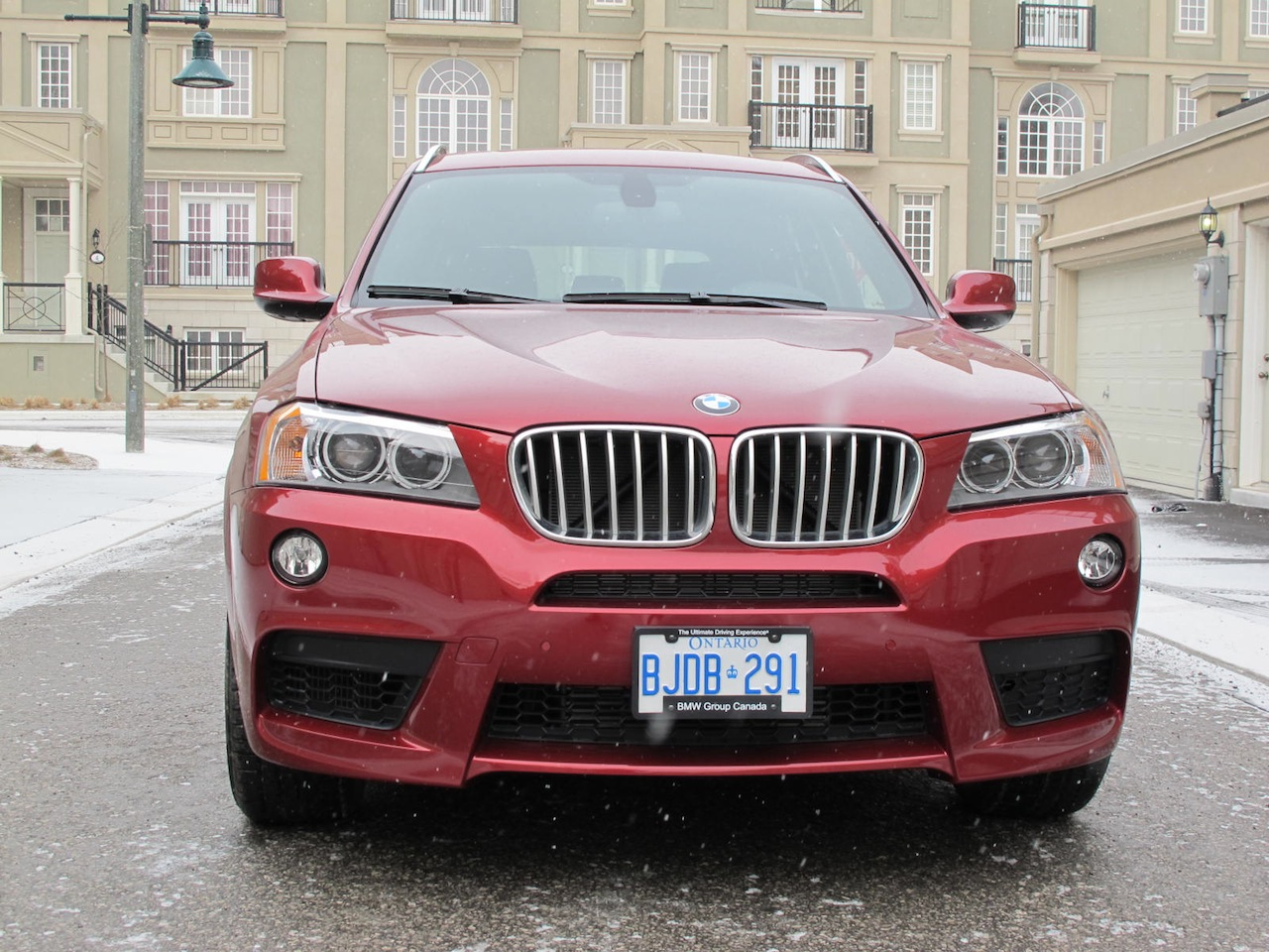 2013 BMW X3 XDrive35i Red Full Front