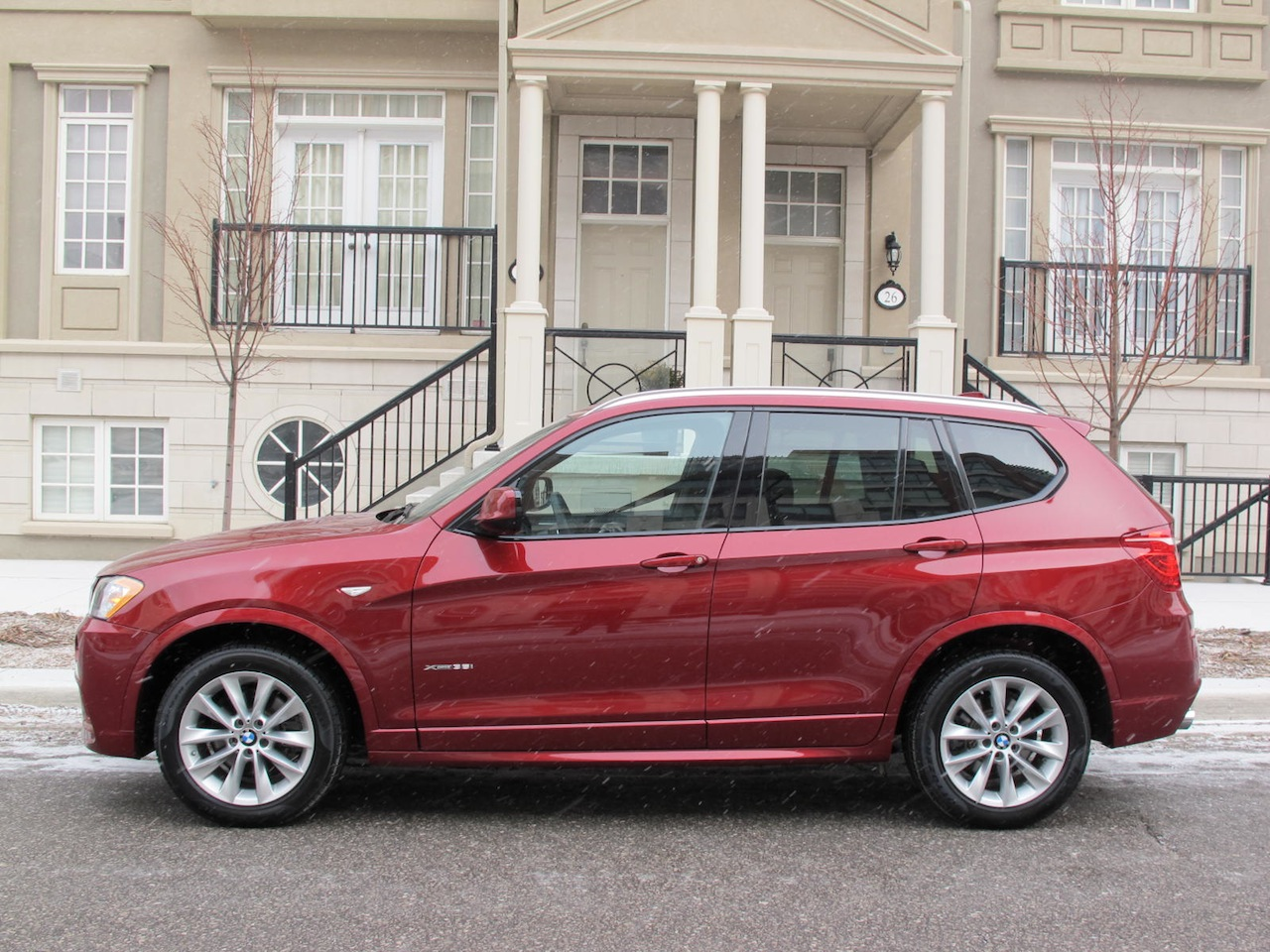 2013 BMW X3 XDrive35i Red Side View