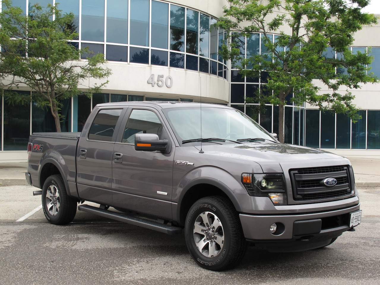 2013 ford f150 fx4 supercrew ecoboost front side view