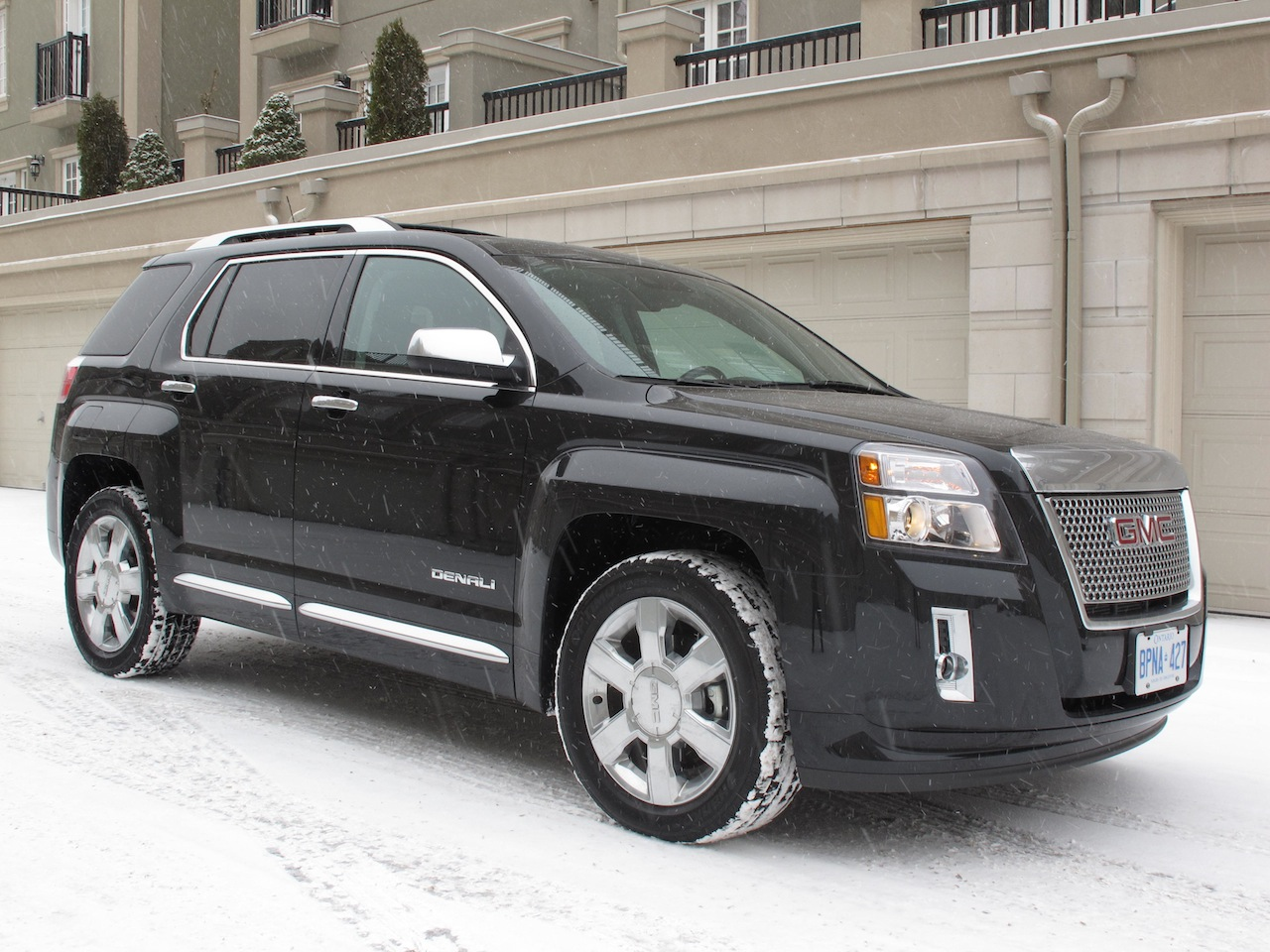 terrain a american gmc crossover first drive review premium