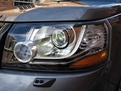 2013 Land Rover LR2 HSE Gray front headlights