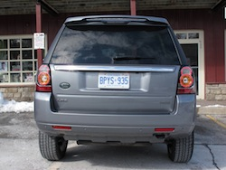 2013 Land Rover LR2 HSE Gray rear view