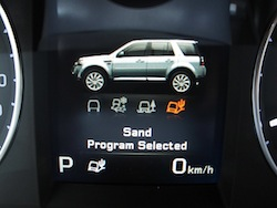 2013 Land Rover LR2 HSE Gray program selected for sand mode