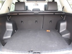 2013 Land Rover LR2 HSE Gray rear trunk storage