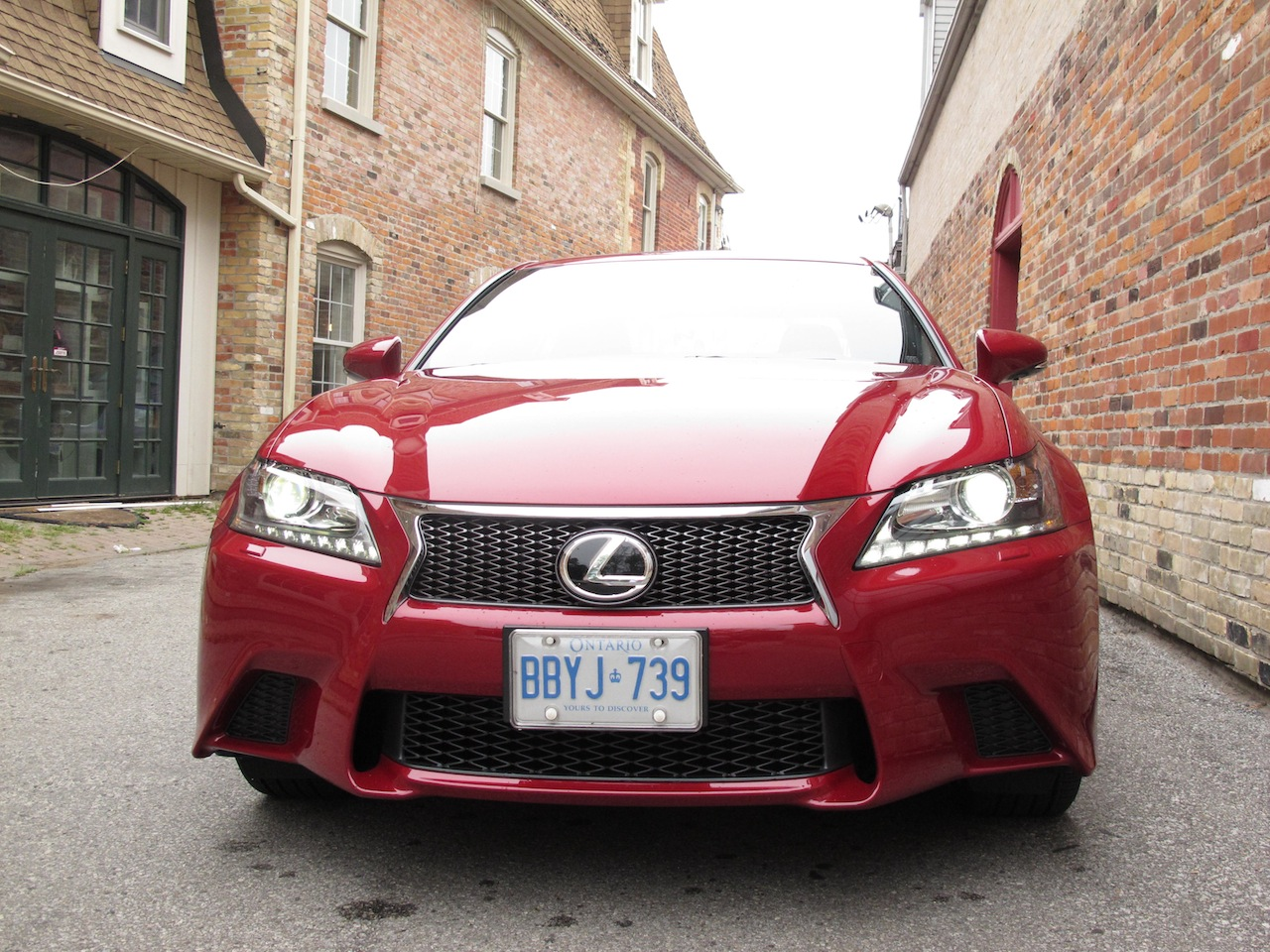 2013 Lexus GS350 F Sport AWD Red Full Front ...