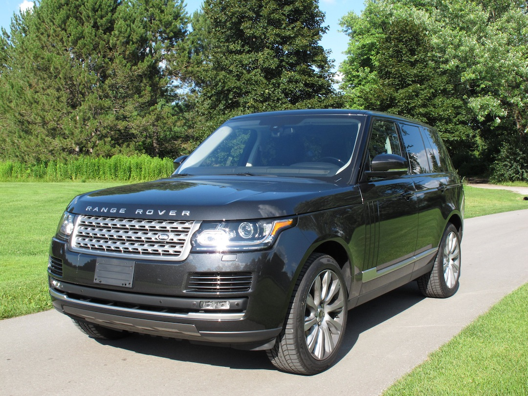 2013 Range Rover V8 Supercharged Review Cars Photos