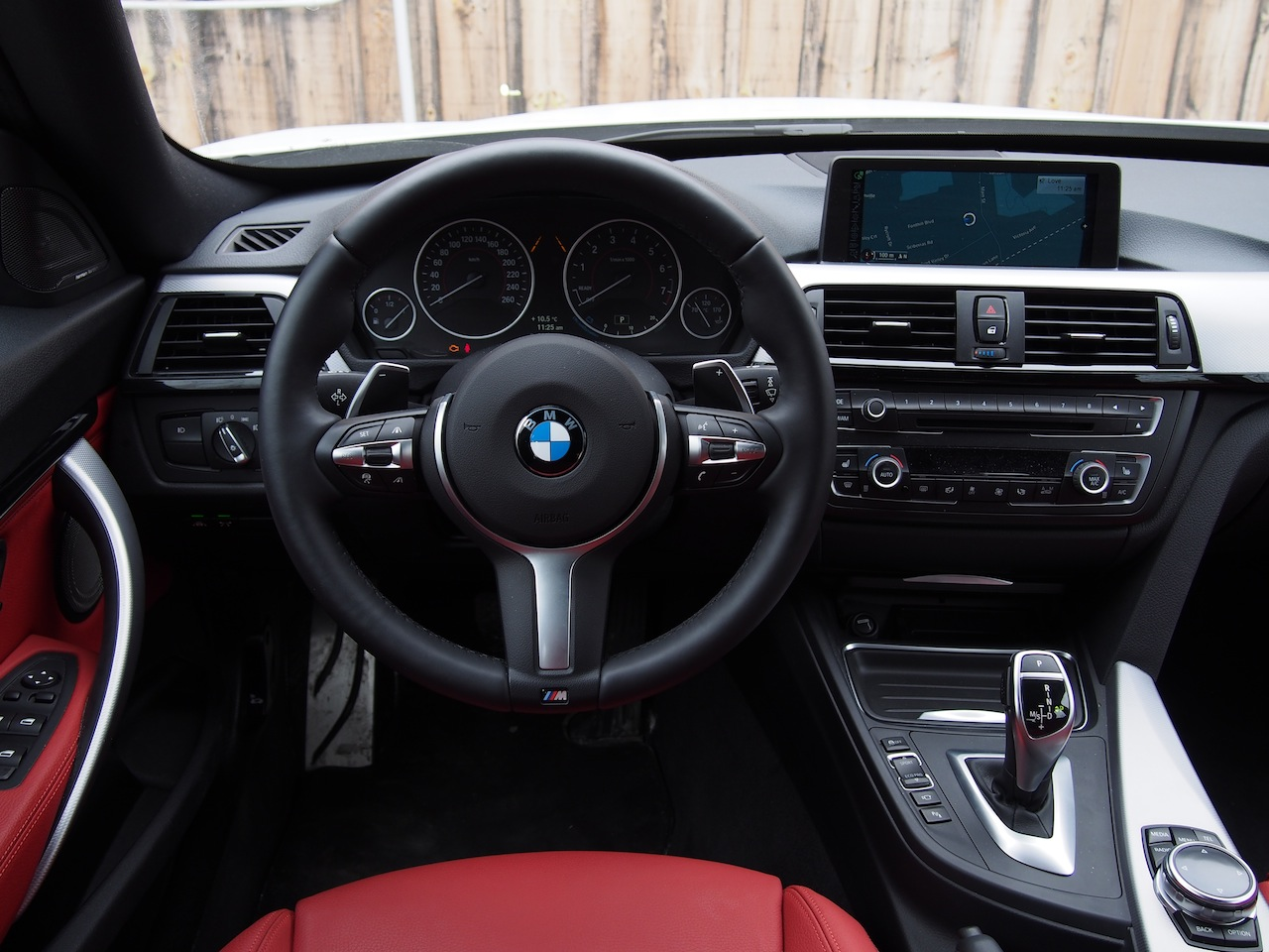 2014 bmw 335i gt white interior coral red dashboard steering wheel