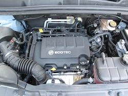 2014 Buick Encore Blue engine bay
