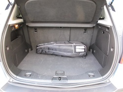 2014 Buick Encore Blue rear trunk storage space