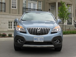 2014 Buick Encore Blue full front