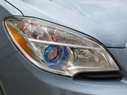2014 Buick Encore Blue front headlights