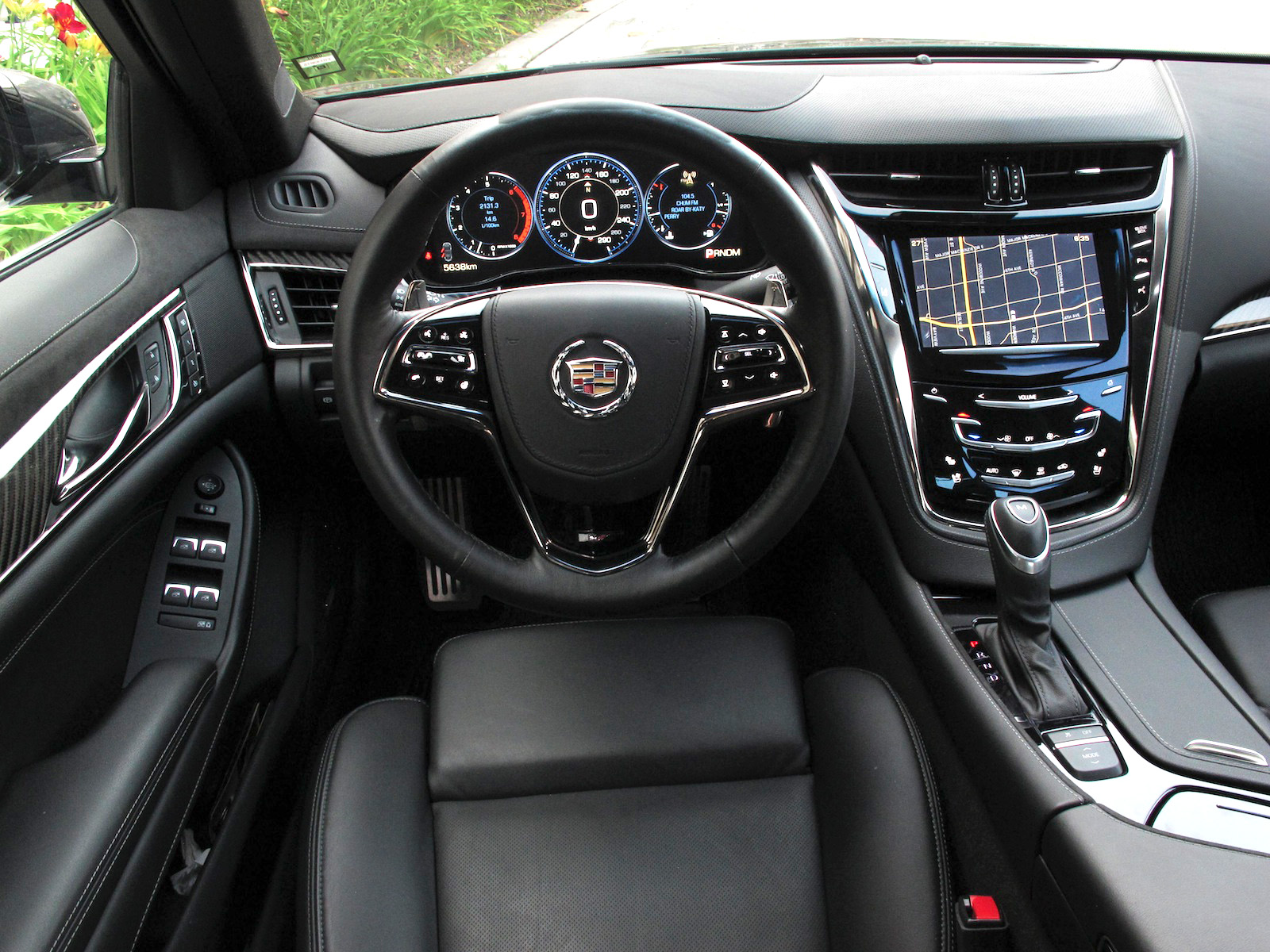 2014 Cadillac CTS V Sport Review Cars Photos Test