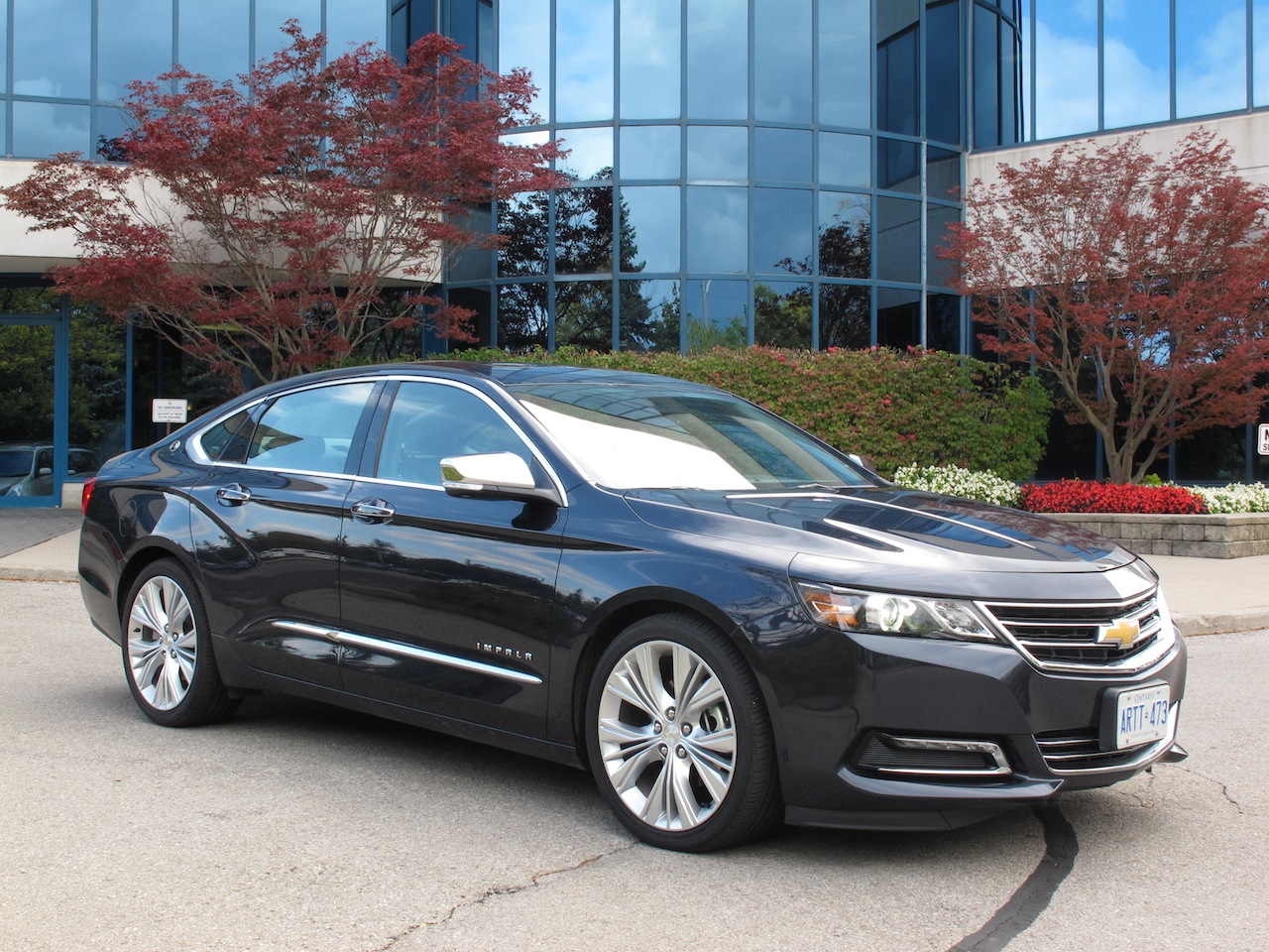 2014 chevrolet impala ltz review cars photos test drives and reviews canadian auto review. Black Bedroom Furniture Sets. Home Design Ideas