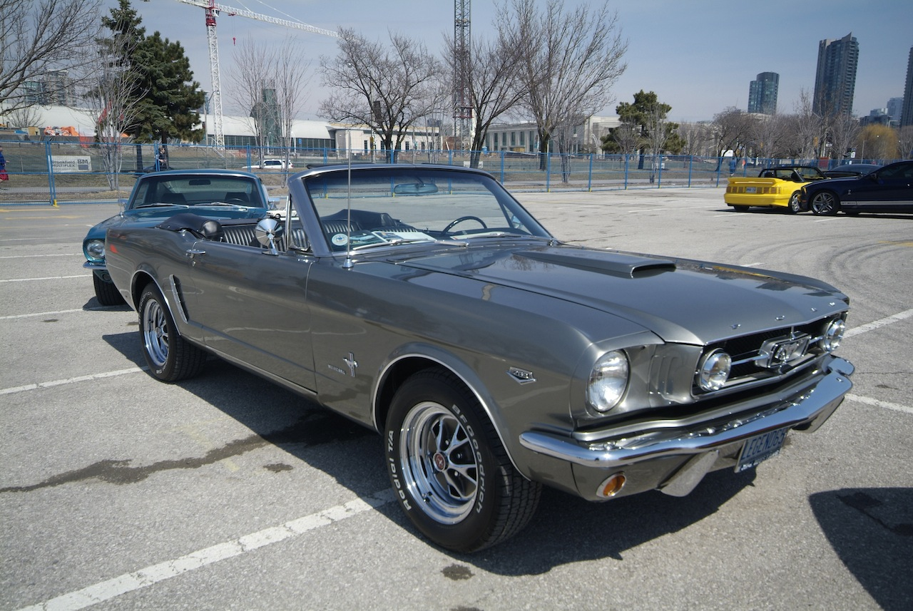 Ford Mustang 50th Anniversary Cars Photos Test Drives And 1964 Mach 1 Convertible Gray 1965 Hardtop Blue 1966 Fastback Green