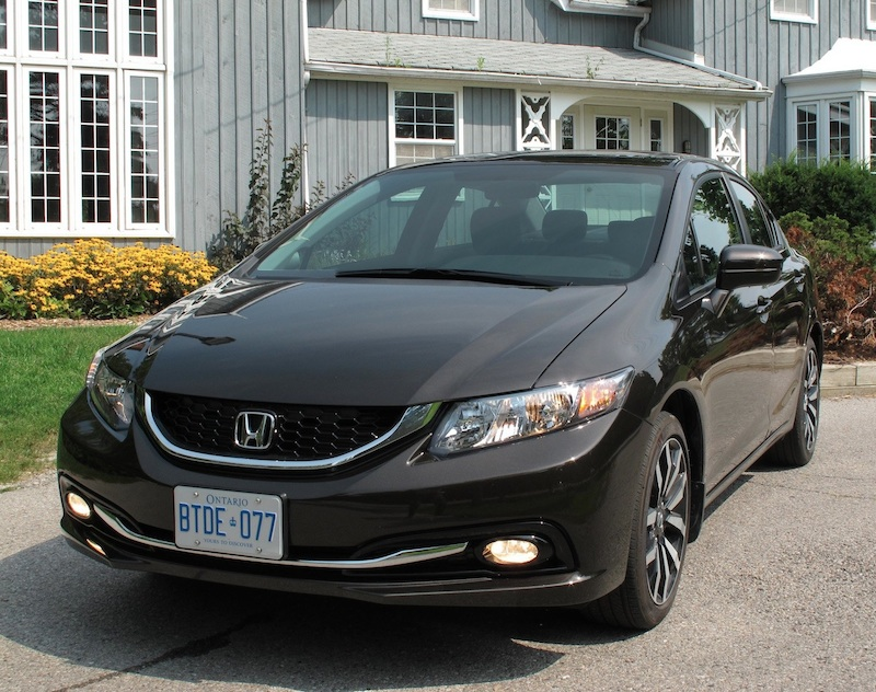 2014 Honda Civic Sedan Touring Brown