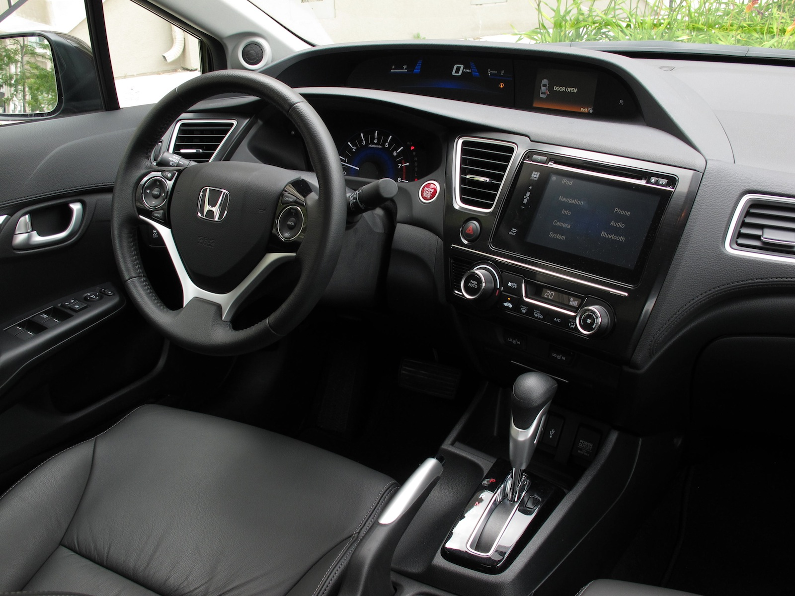 2014 Honda Civic Touring Sedan Review Cars Photos Test