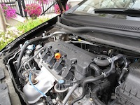 2014 Honda Civic Sedan Touring engine