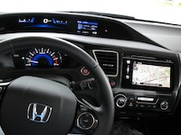 2014 Honda Civic Sedan Touring multi displays tier