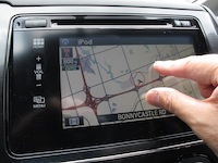 2014 Honda Civic Sedan Touring touch screen display drag