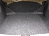 2014 Honda Civic Sedan Touring cargo space trunk
