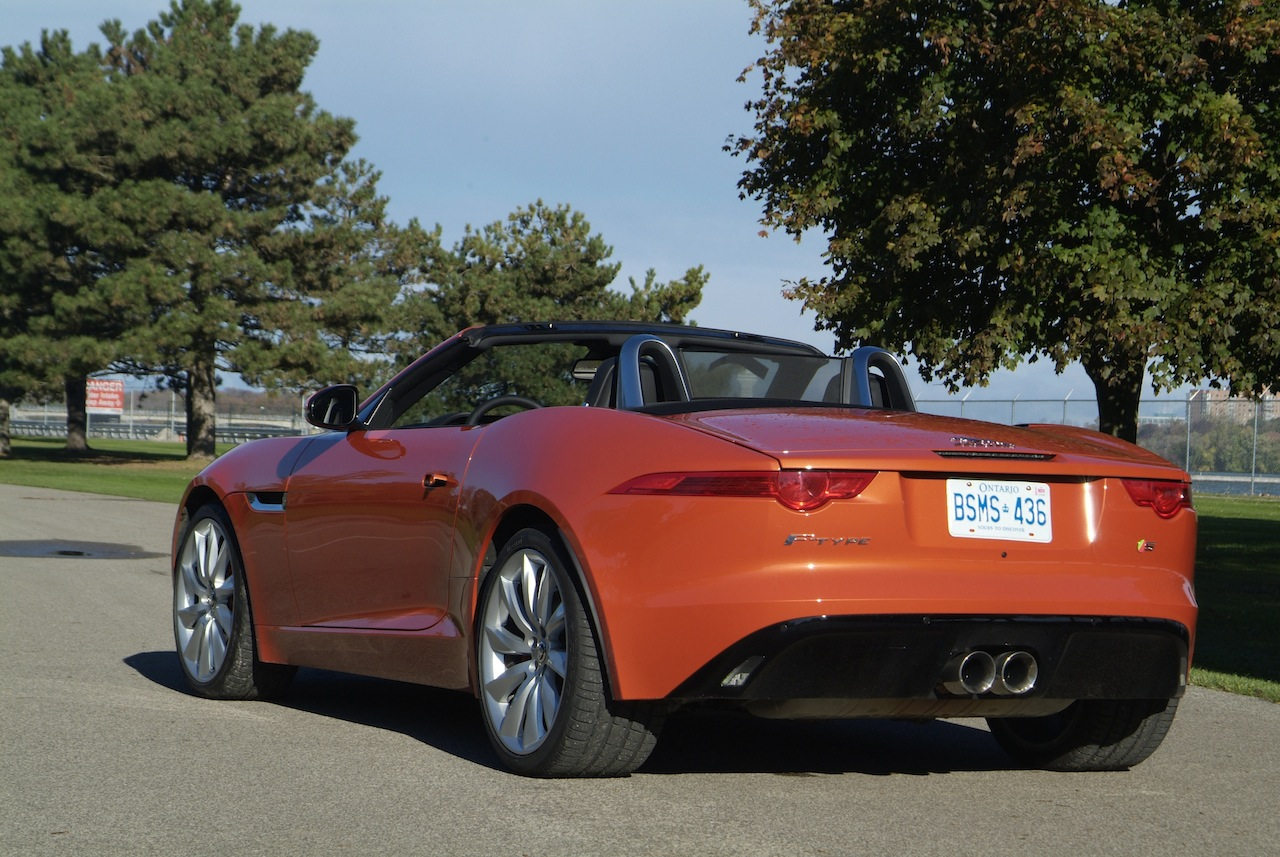Jaguar F Type Convertible >> 2014 Jaguar F-Type - Cars, Photos, Test Drives, and Reviews | Canadian Auto Review