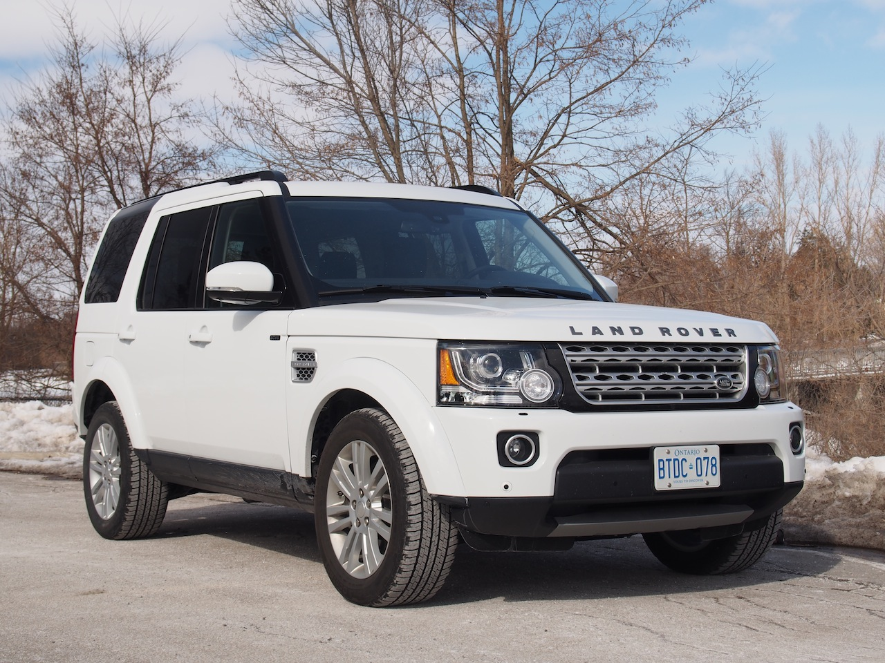 rover land lr4 hse landrover front canadian auto