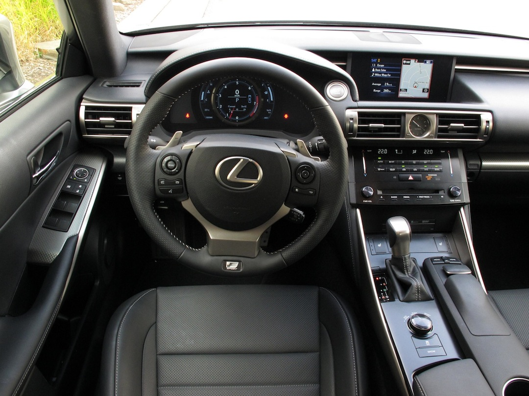 2014 Lexus IS350 FSport AWD Review Cars Photos Test Drives