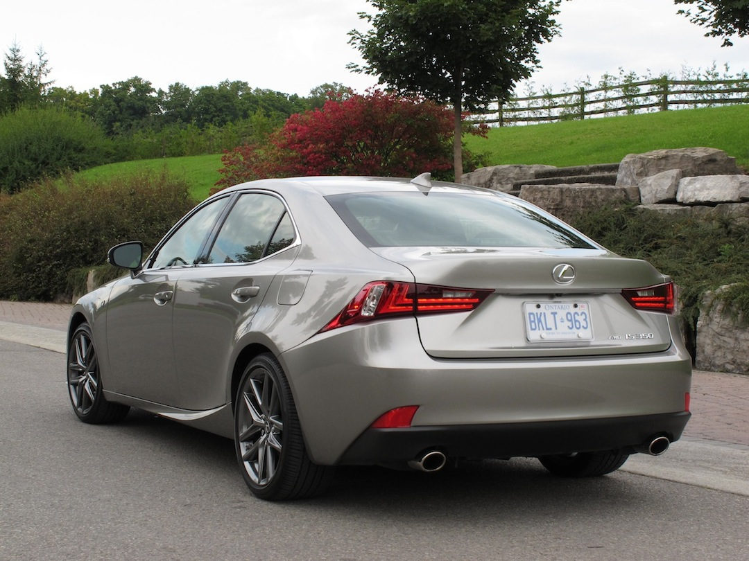 2014 lexus is350 f sport awd review cars photos test drives and reviews canadian auto review. Black Bedroom Furniture Sets. Home Design Ideas