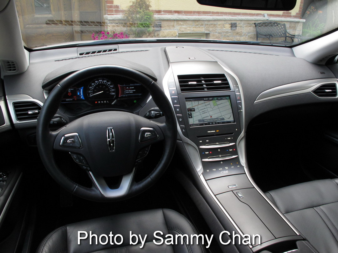 2014 lincoln mkz 3 7l awd hybrid silver main street markham interior. Black Bedroom Furniture Sets. Home Design Ideas