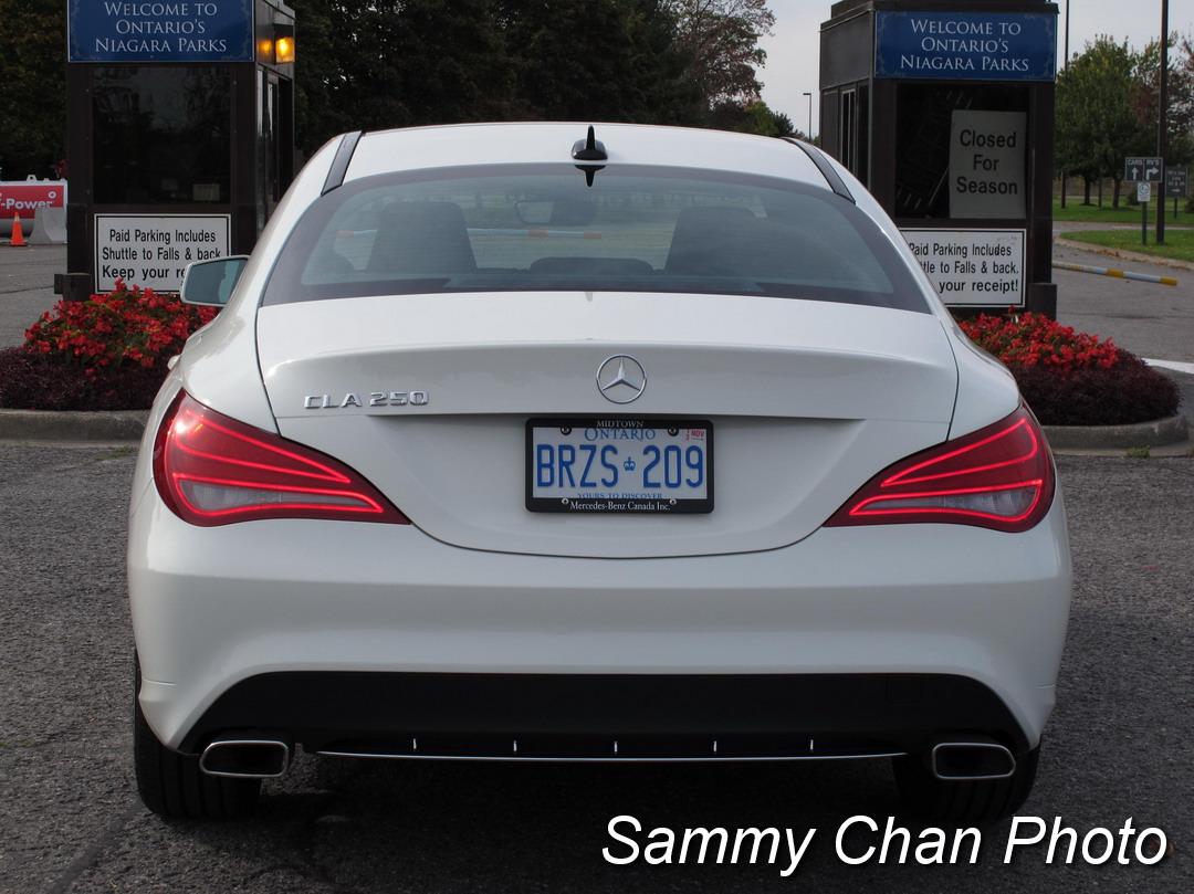 2014 Mercedes-Benz CLA 250, test drive in Oregon, July 2014
