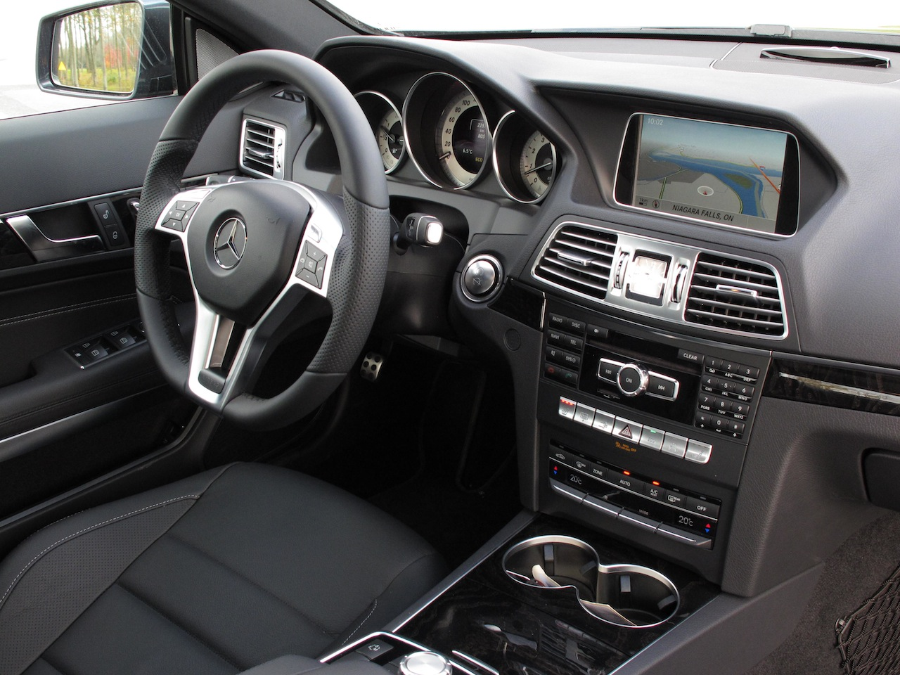 Mercedes benz e350 coupe 2010 autos post - Mercedes e coupe interior ...