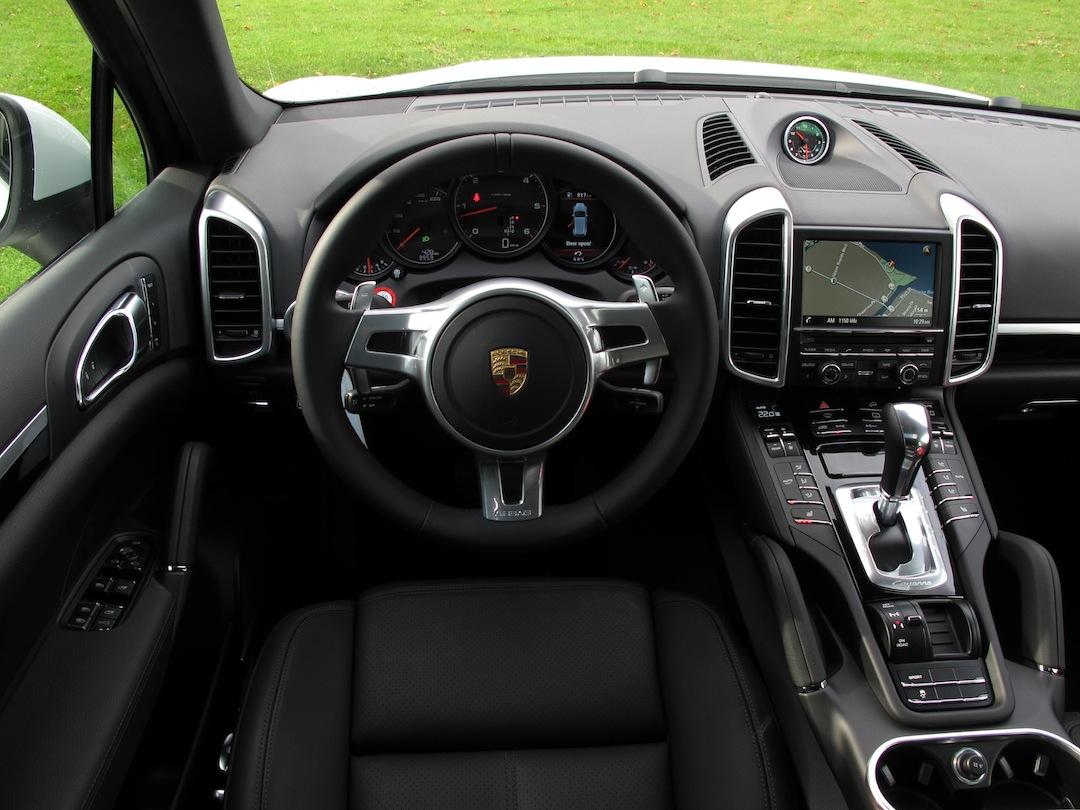 2014 auto reviews autos post for Porsche cayenne interior images