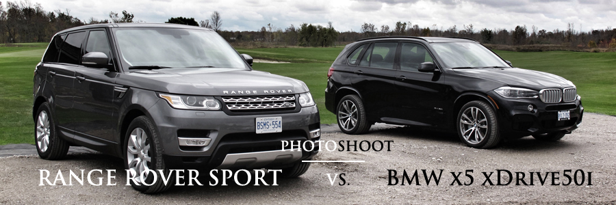 2014 Range Rover Sport V6 Hse And 2014 Bmw X5 Xdrive50i Photoshoot Comparison Cars Photos