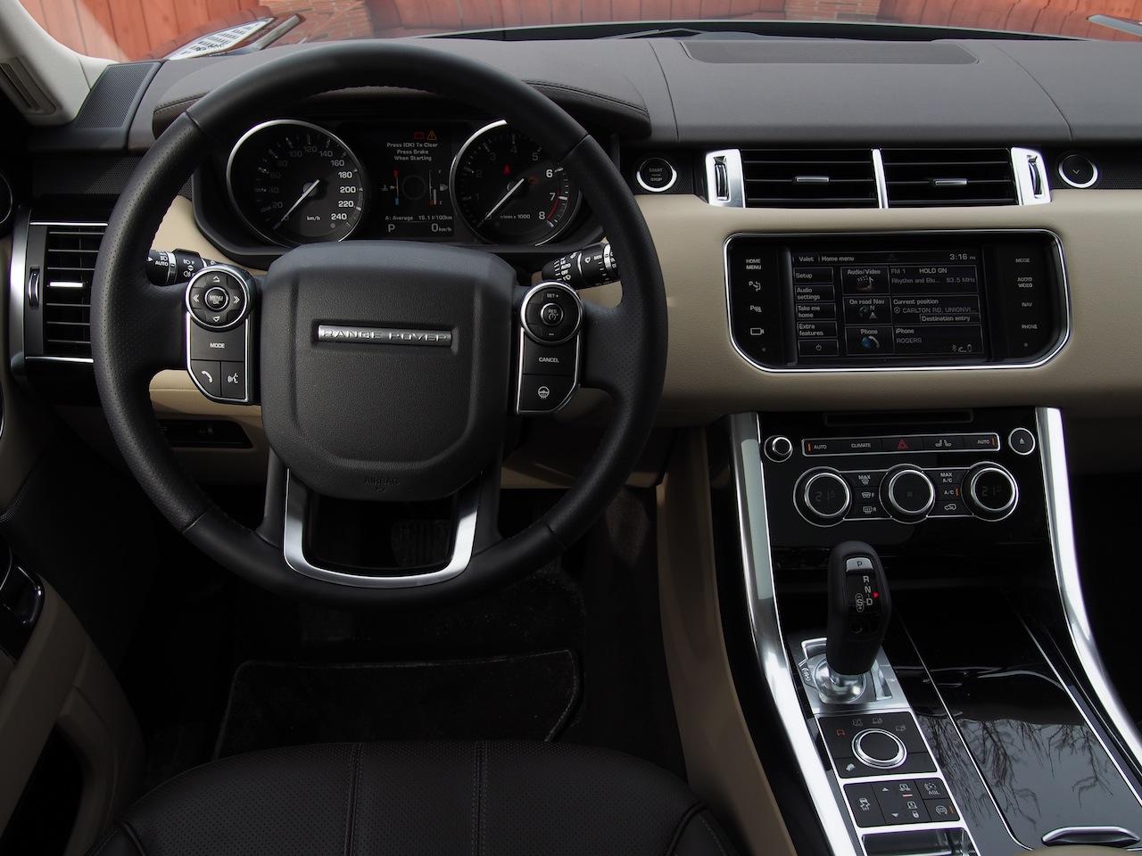 land rover interior 2014. 2014 range rover sport interior dashboard steering wheel land 4