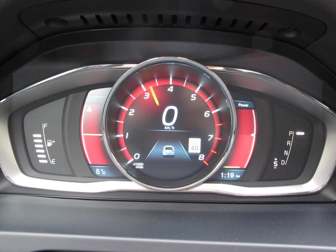 Volvo S60: Main instrument panel