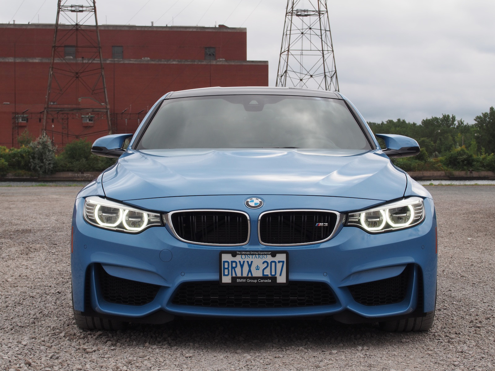 2015 BMW M3 Yas Marina Blue Led Head Lights ...