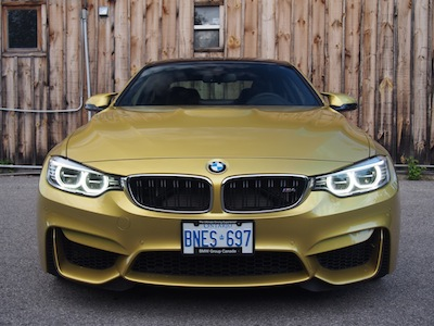 2015 BMW M4 Coupe Austin Yellow